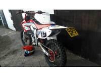 How to make a mx bike road legal 125 250 450 enduro