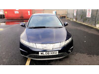HPI CLEAR Automatic Civic Full Service History Low Mileage 87k Blue 5DR AC