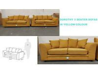 BRAND NEW Corner sofa, cuddle chair, 3 seater, 2 seater - STOCK CLEARANCE UP TO 50%OFF