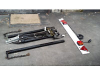 (2.5 TONS TOWING LOAD) a-frame car towing trailer