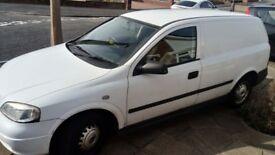 Vauxhall Astra Van in White 1.7 Diesel, 105,000 miles, very clean, good runner