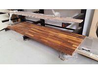 Solid Wooden Walnut Worktop