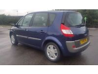 RENAULT SCENIC 1.6 AUTOMATIC. MOT SEPT. 2017 & TAX. ALL MOTS AVAILABLE. LEATHER INTERIOR. HPI CLEAR