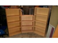 FREE TO COLLECTORS - Office / Home Bookcases Shelving Units - Various Colours & Sizes