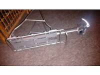 Massload Aluminium bolt-on quick release bike luggage rack can take panniers