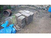 Paving blocks / bricks for patio or driveway