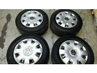 Vw t5 transporter wheels and tyres and trims