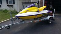 1995 seadoo hx 720cc with trailer.