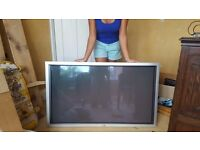 50 inch Plasma Display PDP-503PE AND stand AND TV display box (can be sold separately)