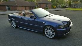 Sep 2003 bmw 3 series M sport convertible...only 87.000 miles
