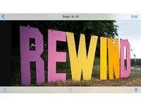 Rewind festival Perth weekend camping tickets