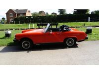 Midget 1979, Red, Lovely original car, Bargain