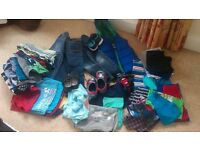 age 3-4 boys clothes bundle, including size 9 shoes