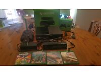 XBox One (500GB) + Kinect + 2 controllers, dual charge docking station & 4 games (inc Forza 2 & 3)