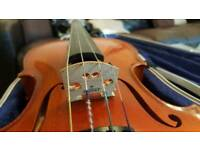 Karl Hofner violin 4/4 802 1996 german Great condition FREE uk delivery full size