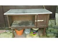 Rabbit guinea pig hutch **free**