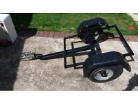 Motorcycle Trailer Chassis