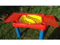 sandpit or water table
