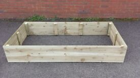 RAISED FLOWER BEDS, QUALITY HANDMADE, VEG,HERB,FLOWER PLANTERS, MANY SIZES & COLOURS.
