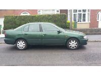 Reliable Just Fully Serviced and 12 Months MOT Nissan Primera - Green Saloon
