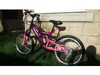 Girls Raleigh Extreme mission bike