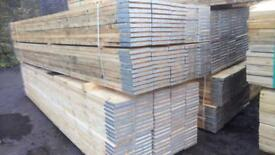 "🌞 13FT Scaffold Boards brand new 3.9mt long wide 36-38mm Thick. 9""wide"