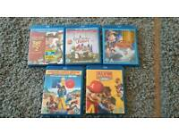 Disney Blu-ray and others x 5