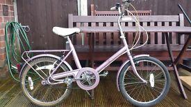 Raleigh Saffron ladies bicycle