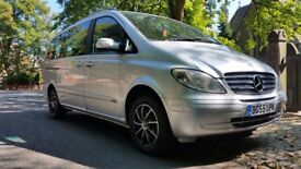 MERCEDES VIANO (vito) 2.2 CDI TREND LONG 128000 MILES FULL HISTORY 1 OWNER 7 SEATS FAMILY USED