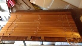 Real wood blinds. 1.2m wide 1.3m drop