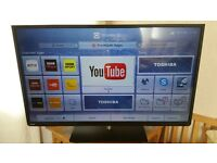 "50"" LED Smart TV Toshiba Wi-Fi with FreeviewHD"