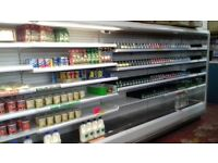 5 metre dairy display fridge, 12 foot meat counter, freezers and shelving clearance!!!