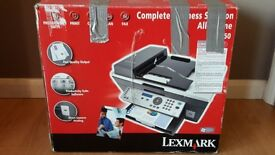 Printer Lexmark X7350 Office   All in One, Print, Copy, Scan, Fax   New