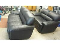 3 & 2 leather suite