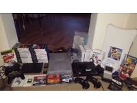 Massive Gaming Bundle - 8 consoles & tons of games & extras! Wii, PS2, PS1, GBA, Mega Drive Retro
