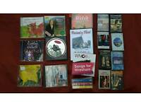 Joblot Welsh music cds and audio cassettes, originals