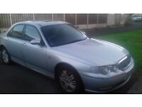 Rover 75 V6 1991CC Manual registered 2002 Silver runs very well