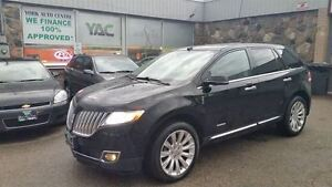 2012 Lincoln MKX AWD Limited Edition; Adaptive Cruise, Vista Roo