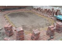 GPM Brick paving & patios/flagging.