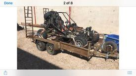 Off road buggy Honda 1000cc