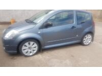 2007 Citreon C2 for sale. Very low mileage, full year MOT.