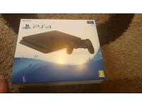Ps4 1tb jet black brand new