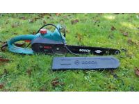 Bosch AKE 40 Electric Chainsaw, 40 cm Bar Length, Hardly used