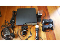 Playstation 3 Motion with Headset and Eye Camera