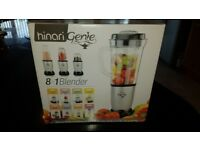 Hinari genie 8 in 1 Blender, as new (never used), very versatile small appliance, boxed