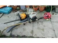 Garden petrol machines x3