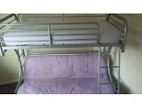 Childrens Futon Bunk Bed