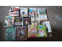 DVD JOB LOT 29 PLUS 7 NINTENDO DS GAMES great bargain