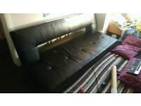 PU Leather sofa bed