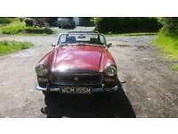 1974 MG MIDGET MK3 ROUND WHEEL ARCH 1275 cc